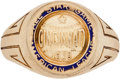 Baseball Collectibles:Others, 1938 Rudy York All-Star Presentation Ring. ...