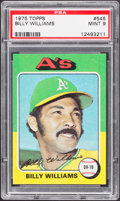 Baseball Cards:Singles (1970-Now), 1975 Topps Billy Williams #545 PSA Mint 9....