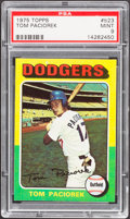 Baseball Cards:Singles (1970-Now), 1975 Topps Tom Paciorek #523 PSA Mint 9....