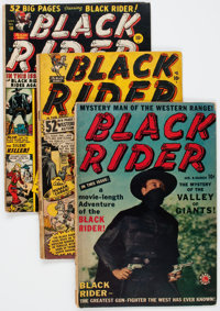 Black Rider Group of 20 (Atlas, 1950) Condition: GD+.... (Total: 20 Comic Books)