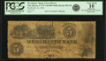 Obsoletes By State:Connecticut, New Haven, CT - Merchants' Bank of New Haven $5 Feb. 21, 1852 CT-285 G8 SENC. PCGS Very Good 10 Apparent.. ...
