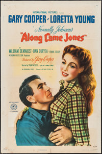 "Along Came Jones (RKO, 1945). One Sheet (27"" X 41""). Western"