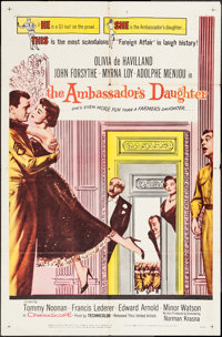 """The Ambassador's Daughter & Other Lot (United Artists, 1956). One Sheets (2) (27"""" X 41""""). Comedy..."""