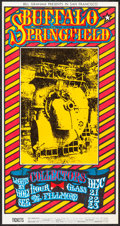 """Movie Posters:Rock and Roll, Buffalo Springfield at the Fillmore (Bill Graham, 1967). ConcertPoster (11"""" X 21"""") Style B. Rock and Roll.. ..."""