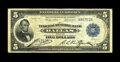 Fr. 805 $5 1915 Federal Reserve Bank Note Very Fine. The census for this issue stood at a mere seventeen issues for near...