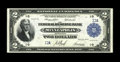 Fr. 772 $2 1918 Federal Reserve Bank Note Extremely Fine-About New. One other single digit serial numbered note is known...