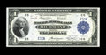 Fr. 721 $1 1918 Federal Reserve Bank Note Gem New. This is a beautiful gem $1 that carries low serial number E50A. The p...