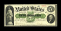 Large Size:Demand Notes, Fr. 3 $5 1861 Demand Note Very Fine. This $5 is flawless for thegrade with bold signatures and dark inks. Nice, original De...