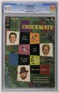 Silver Age (1956-1969):Mystery, Checkmate #1 File Copy (Gold Key, 1962) CGC NM- 9.2 Off-white towhite pages. Partial photo cover. Back cover pin-up. Jack S...