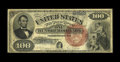 Large Size:Legal Tender Notes, Fr. 174 $100 1880 Legal Tender Fine. Less than twenty examples ofthis Friedberg number are known in all grades combined. Th...