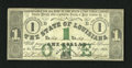 Obsoletes By State:Louisiana, Baton Rouge, LA- State of Louisiana $1 Feb. 24, 1862. This note was printed on unissued notes of Holley Spring, Mississippi....