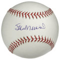 Autographs:Baseballs, Stan Musial Single Signed Baseball. Stan the Man's heroics at theplate made his inclusion into the Hall of Fame a no-brain...