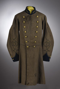 Confederate Uniform of Cuban-born Officer Lt. Francisco Moreno, who served with Beauregard and was killed at the Battle...