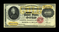 Fr. 1225 $10000 1900 Gold Certificate About New. A lone centerbend limits the grade of this colorful $10000. Most notes...