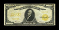 Large Size:Gold Certificates, Fr. 1219e $1000 1907 Gold Certificate Fine. This is the most commonof the 1907 $1000 Gold Certificates. It has the appearan...