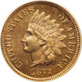 Proof Indian Cents: , 1877 1C PR65 Red and Brown PCGS. According to the Guide Book, 900 proof cents were struck in 1877. Approximately 120 Ge...