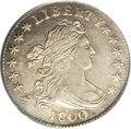 Early Dimes: , 1800 10C AU53 PCGS. JR-2, R.5. Two varieties of 1800 dimes areknown, and the JR-2 is slightly scarcer. Actually, both vari...