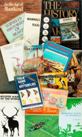 Books:Natural History Books & Prints, [Natural History]. Group of Sixteen Publications. Various publishers and dates. ... (Total: 16 Items)