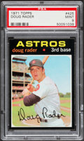 Baseball Cards:Singles (1970-Now), 1971 Topps Doug Rader #425 PSA Mint 9....