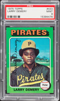 Baseball Cards:Singles (1970-Now), 1975 Topps Larry Demery #433 PSA Mint 9....