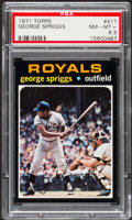 Baseball Cards:Singles (1970-Now), 1971 Topps George Spriggs #411 PSA NM-MT+ 8.5....