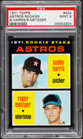 Baseball Cards:Singles (1970-Now), 1971 Topps Astros Rookies #404 PSA Mint 9....