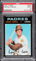Baseball Cards:Singles (1970-Now), 1971 Topps Rafael Robles #408 PSA Mint 9....