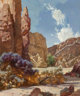Ralph Brownell McGrew (American, 1916-1994) Song of the Canyon Oil on board 35-1/2 x 30 inches (90.2 x 76.2 cm) Sign