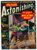 Golden Age (1938-1955):Horror, Astonishing #10 (Atlas, 1952) Condition: VG+....