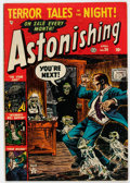Golden Age (1938-1955):Horror, Astonishing #24 (Atlas, 1953) Condition: VG/FN....
