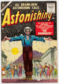 Golden Age (1938-1955):Horror, Astonishing #39 (Atlas, 1955) Condition: FN/VF....