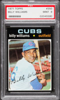 Baseball Cards:Singles (1970-Now), 1971 Topps Billy Williams #350 PSA Mint 9 - None Higher....