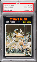 Baseball Cards:Singles (1970-Now), 1971 Topps Rich Reese #349 PSA NM-MT 8....
