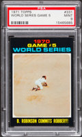 Baseball Cards:Singles (1970-Now), 1971 Topps World Series Game 5 #331 PSA Mint 9....