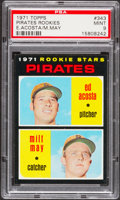 Baseball Cards:Singles (1970-Now), 1971 Topps Pirates Rookies #343 PSA Mint 9....