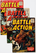 Golden Age (1938-1955):War, Battle Action Group of 11 (Atlas, 1954-57) Condition: AverageVG/FN.... (Total: 11 Comic Books)
