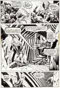 "Original Comic Art:Panel Pages, Bernie Wrightson Swamp Thing #2 ""The Man Who Wanted Forever""Page #22 Original Art (DC, 1972-73)...."