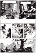 "Original Comic Art:Panel Pages, Bernie Wrightson Creepy #62 ""The Black Cat"" Page 4 OriginalArt (Warren, 1974)...."