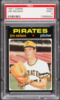 Baseball Cards:Singles (1970-Now), 1971 Topps Jim Nelson #298 PSA Mint 9....