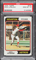 Baseball Cards:Singles (1970-Now), 1974 Topps Cecil Upshaw #579 PSA Gem Mint 10....