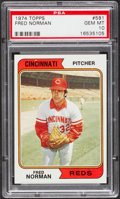 Baseball Cards:Singles (1970-Now), 1974 Topps Fred Norman #581 PSA Gem Mint 10....