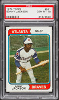 Baseball Cards:Singles (1970-Now), 1974 Topps Sonny Jackson #591 PSA Gem Mint 10....