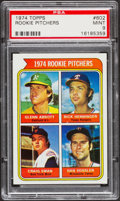 Baseball Cards:Singles (1970-Now), 1974 Topps Rookie Pitchers #602 PSA Mint 9....