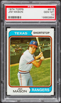 Baseball Cards:Singles (1970-Now), 1974 Topps Jim Mason #618 PSA Gem Mint 10....