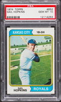 Baseball Cards:Singles (1970-Now), 1974 Topps Gail Hopkins #652 PSA Gem Mint 10....