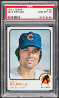 Baseball Cards:Singles (1970-Now), 1973 Topps Milt Pappas #70 PSA Gem Mint 10....