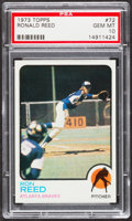 Baseball Cards:Singles (1970-Now), 1973 Topps Ron Reed #72 PSA Gem Mint 10....