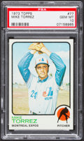 Baseball Cards:Singles (1970-Now), 1973 Topps Mike Torrez #77 PSA Gem Mint 10 - Pop Three....