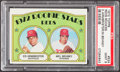 Baseball Cards:Singles (1970-Now), 1972 Topps Reds Rookies Armbrister #524 PSA Mint 9....