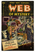 Golden Age (1938-1955):Horror, Web of Mystery #1 (Ace, 1951) Condition: GD/VG....